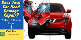 auto body damage repair dallas