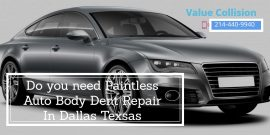 paintless dent repair Dallas Tx